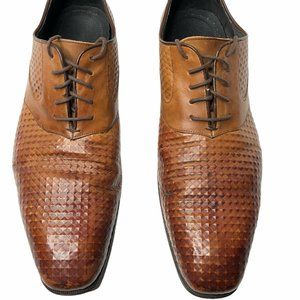 Stacy Adams Mens 14 M Oxfords Brown Shoes